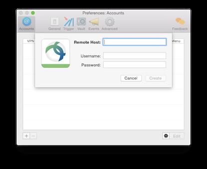 Setup SSL VPN in macOS