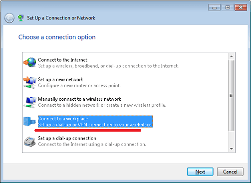 How To Setup VPN in Windows 7 - 2