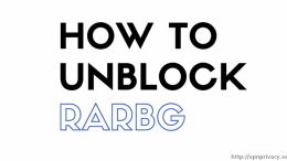 How to unblock RARBG